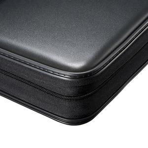 Image 5 - ymjywl CD Case Blu ray Disc Box Shockproof CD Bag 96 Discs Capacity For Car Travel Storage Equipment Box