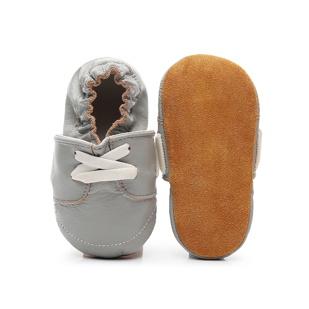 PU Suede Leather Newborn Baby Moccasins Shoes Soft Soled Non-slip Crib First Walkers