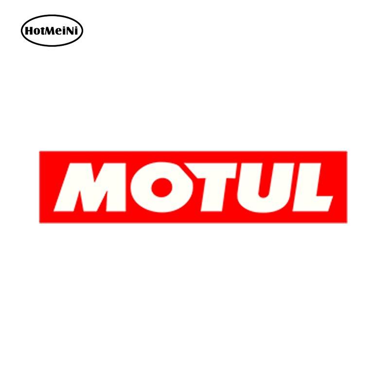 HotMeiNi Car Styling Car Sticker Waterproof Motul Voiture Course Autocollants Auto Moto Vinyle Stickers Race Huile 15cm x 3.75cm моторное масло motul garden 4t 10w 30 2 л