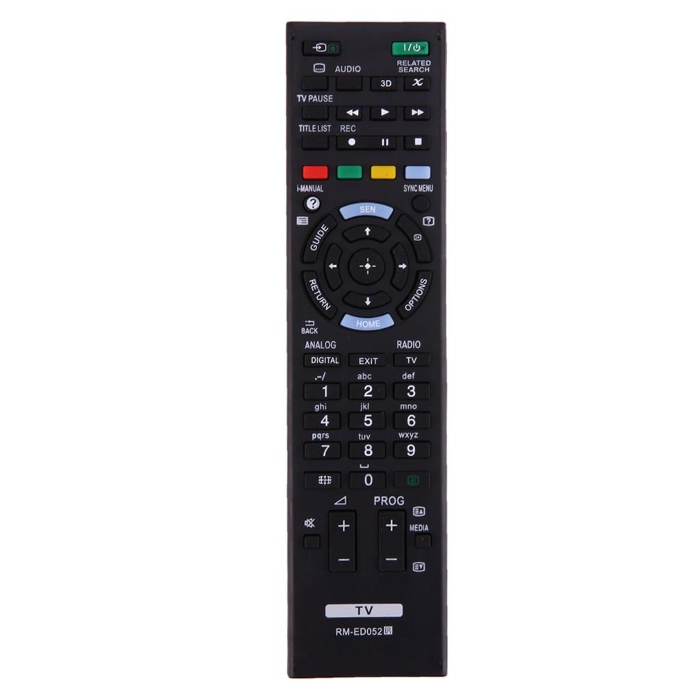 Universal TV Remote Control Replacement Black Smart Television Remote Control fo