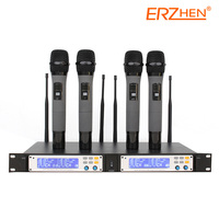 Hot Selling Wireless Mic Professional Wireless Microphone System R U1100 High Quality Wireless Microphone