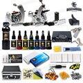 Dragonahwk 2 armas de máquinas de 8 tintas de tatuagem kits de alimentação apertos dicas