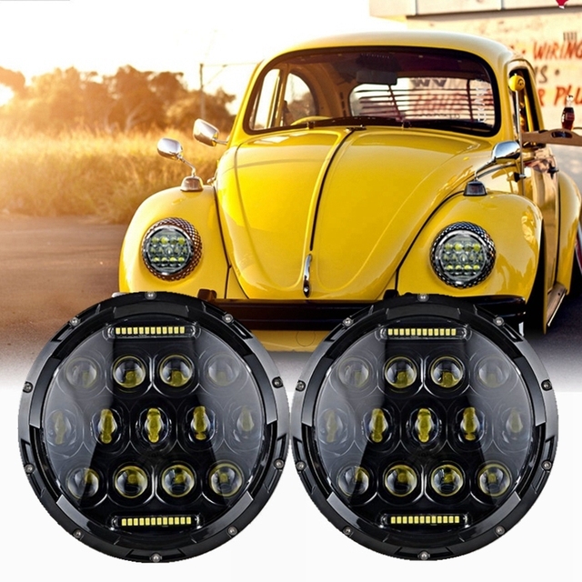 LED Headlamp Headlights Upgrade Light Kit for VW Beetle Classic-in ...