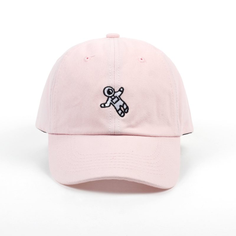 unisex fashion dad hat astronaut emberoidery baseball cap 4 colors available good quality snapback hats brand hat caps wholesale 4