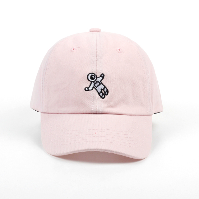 unisex fashion dad hat astronaut emberoidery baseball cap 4 colors available good quality snapback hats brand hat caps wholesale