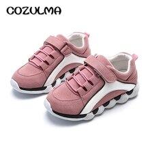 COZULMA 2017 Printemps Enfants Shoes Enfants Mode Sport Shoes Filles Sneakers Pour Garçons Filles Causal de Course Shoes Taille 26-30