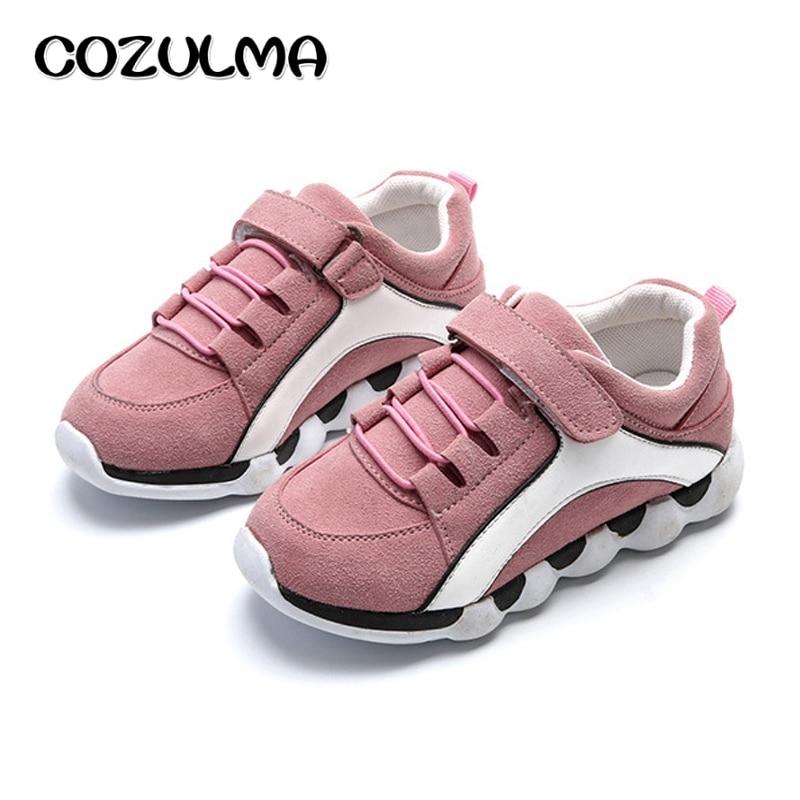 COZULMA 2018 Spring Kids Shoes 아동 패션 운동화 소녀 용 운동화 소년 소녀 캐주얼 운동화 사이즈 26-30