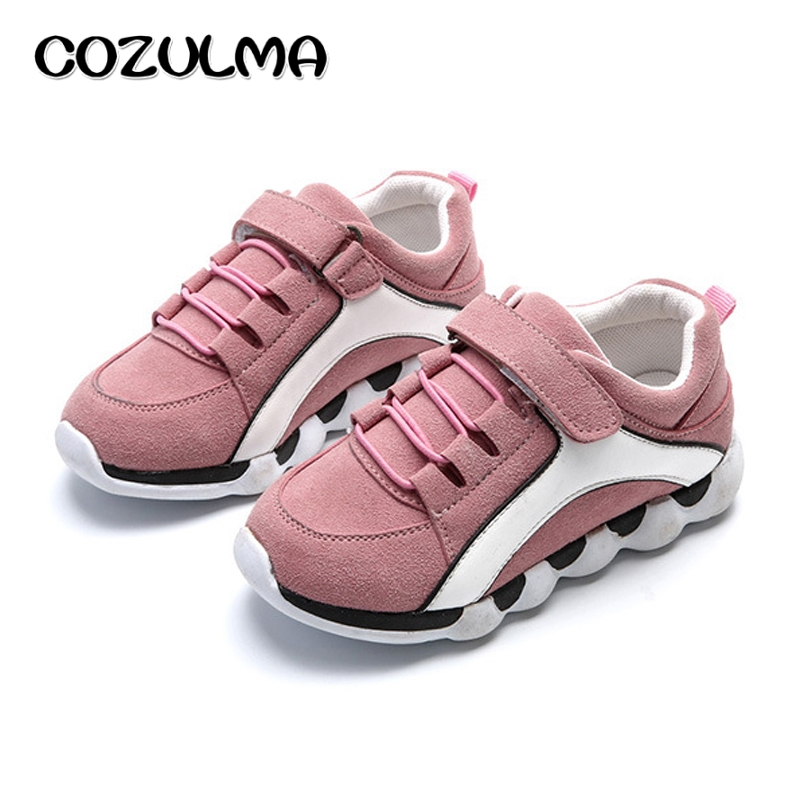 COZULMA 2018 Spring Kids Shoes Children Fashion Sport Shoes Girls Sneakers For Boys Girls Casual Running Shoes Size 26-30