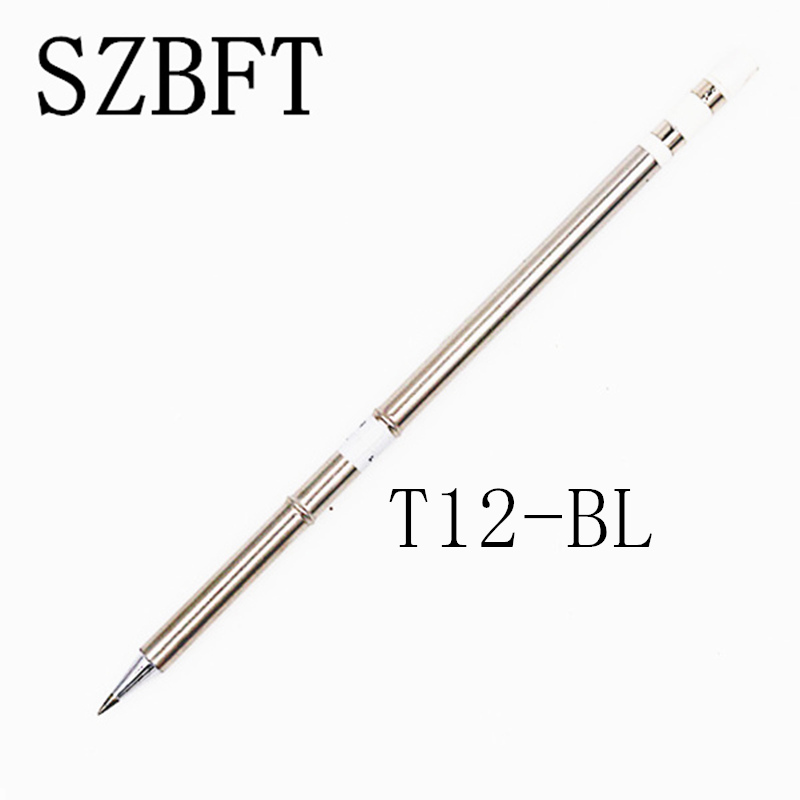 SZBFT T12-BL D4 D08 D12 D16 D24 D32 D52 Soldeerbout Tips voor Hakko Soldeer Rework Station FX-951 FX-952 gratis verzending
