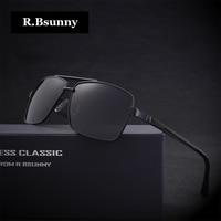 Men Brands Polarized Sunglasses Fashion Business Classic High Quality Sunglasses Block Driving Glare UV400 Goggle R