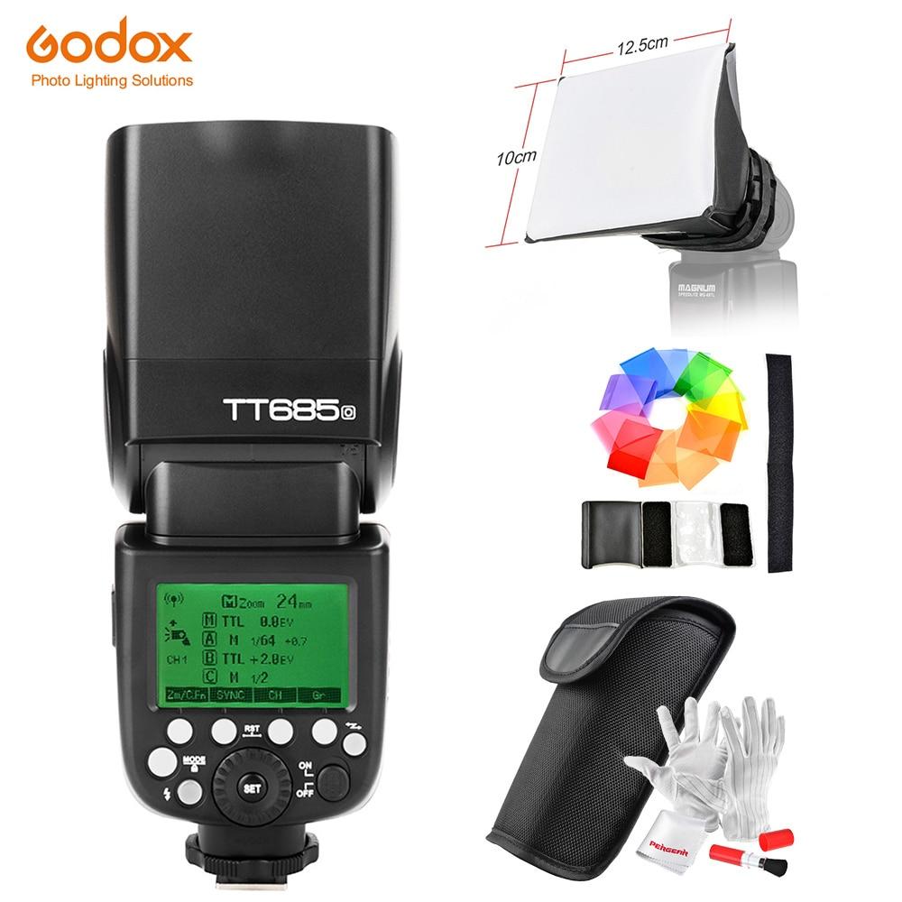 Godox Speedlite Strobe TT685O / X1T-O Trigger for Olympus Panasonic Lumix Camera Flash TTL HSS GN60 High Speed 2.4G for E-M10II yn e3 rt ttl radio trigger speedlite transmitter as st e3 rt for canon 600ex rt new arrival