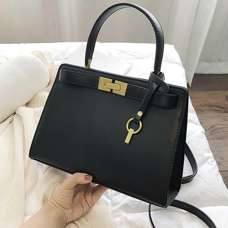 ETAILL marca de lujo bolsos cruzados para mujeres 2019 pequeña cadena Bolso pequeño de mano de cuero PU bolso de hombro de diseñador de señoras
