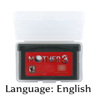 32 Bit Video Game Cartridge Mother 3 Console Card US Version English Language Support Drop Shipping32 Bit Video Game Cartridge Mother 3 Console Card US Version English Language Support Drop Shipping