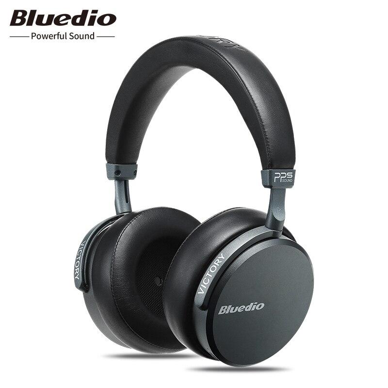 2018 Bluedio V2 Bluetooth casque PPS12 pilotes avec microphone haute-fin casque Sans Fil casque pour téléphone et musique