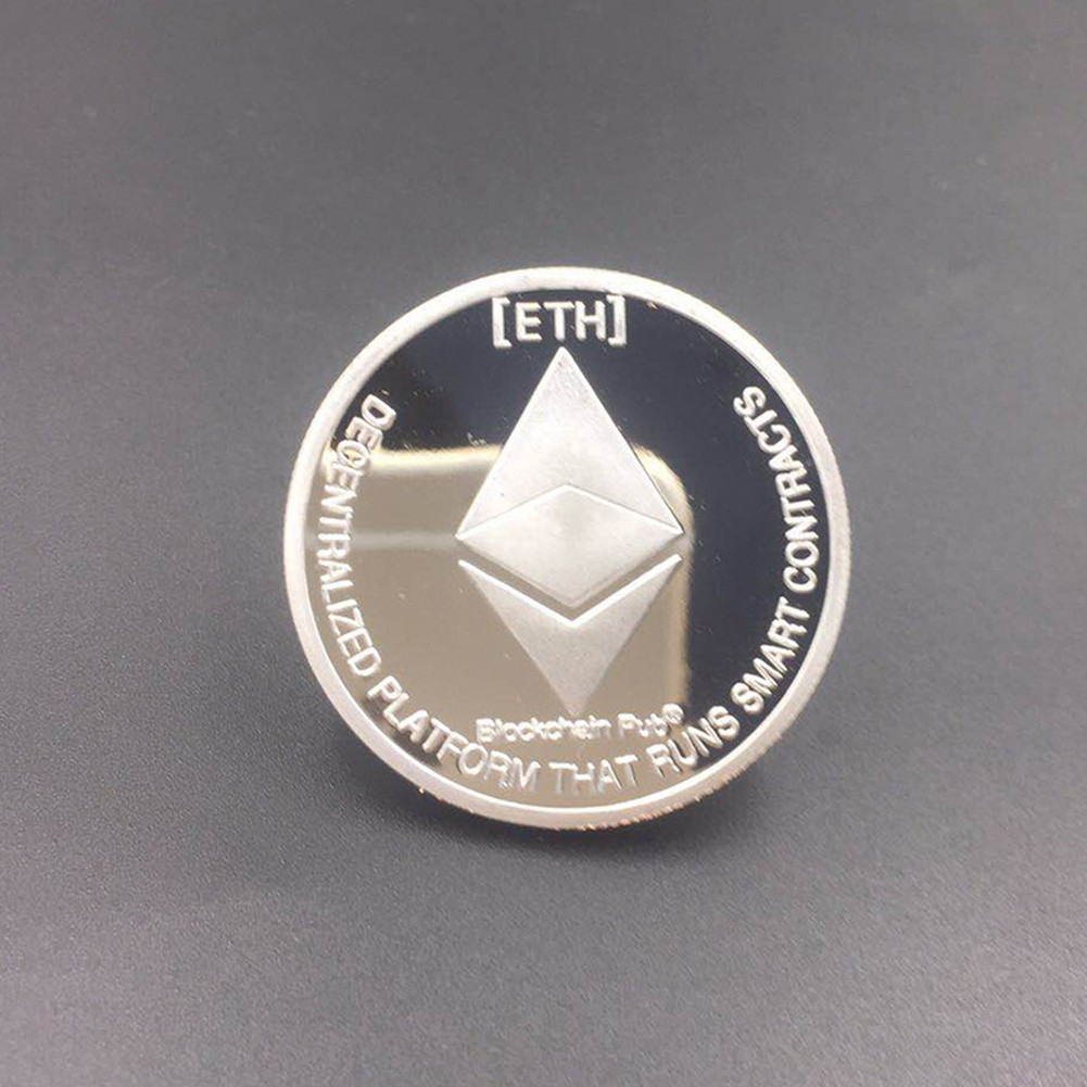 New Gold Plated Bitcoin Currency Coin Collection Physical Litecoin Gift Collection Art Antique Home Imitation  Party Decoration 2
