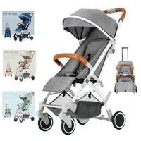 Baby foldable stroller Lightweight bassinet Folding strollers Mini trolley stroller travel
