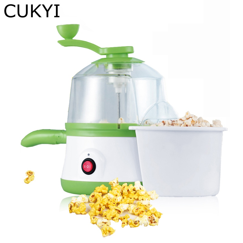 CUKYI 220V 350W Household Electric Multifunctional Popcorn maker Egg fry pan Cooker egg Boiler Steamer Cooking Tools cukyi household 3 0l electric multifunctional cooker microcomputer stew soup timing ceramic porridge pot 500w black