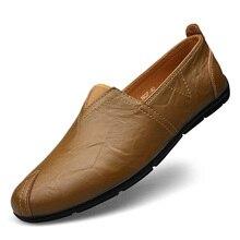 2016 Famosa Marca de Diseño de Moda de Cuero De Estilo Europeo Hombres Zapatos Ocasionales Respirables Al Aire Libre Hombres Zapatos Hechos A Mano Zapatos Casuales