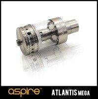 Gros Aspire Atlantis MEGA Atomiseur Réservoir 5 ML Pyrex Air Réglable Mega Réservoir Bobine 1.0ohm/0.3ohm Vapeur Cigarette 15 pcs/lot