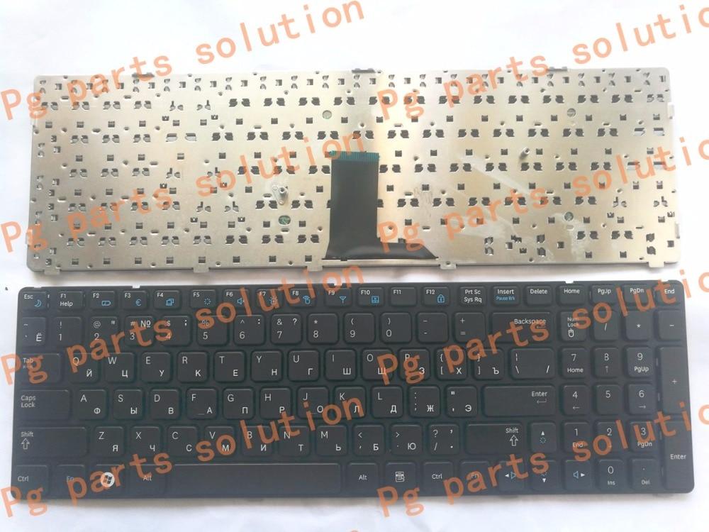 Keyboard for Samsung NP-R578 NP-R580 NP-R590 NP-E852 NP R578 R580 R590 E852 NPR578 NPR580 NPR590 NPE852 Original Engraved to RU клавиатура ноутбука для lg xnote r570 r590 rb570 rb590 r590 u r590 t черный словенский sv mp 09m16sa 920