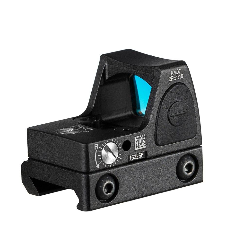 Lunette de visée réflexe de Glock de collimateur de visée de point rouge de Mini RMR des états-unis adaptée au Rail de tisserand de 20mm pour la RL5-0004-2 de fusil de chasse d'airsoft - 3