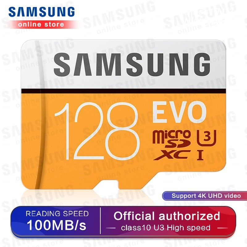 SAMSUNG Micro SD Memory Card 32G 64G 128G 256 MicroSD Cards SDHC SDXC Max 95Ms EVO 32GB 64GB C10 TF Trans Flash Micro Card-in Micro SD Cards from Computer & Office