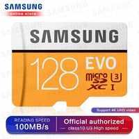 SAMSUNG Micro SD Speicher Karte 32G 64G 128G 256 MicroSD Karten SDHC SDXC Max 95Ms EVO 32GB 64GB C10 TF Trans Flash Micro Karte