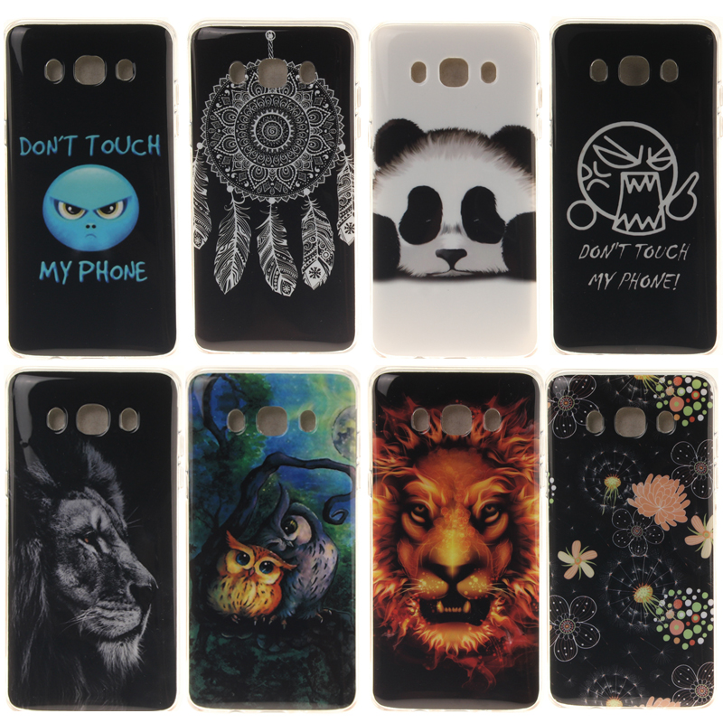 Ultra Thin Cute Panda Soft TPU Fundas For Samsung Galaxy J5 2016 Case luxury Silicone Back Cover for Samsung J5 2016 Coque Capa