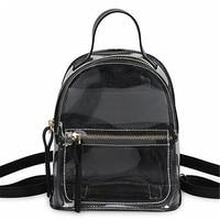 HIVICKY 2018 Korean Fashion small Bagpack Women PVC Clear Backpack Transparent School Bags for Teenage Girls Mochila Feminina