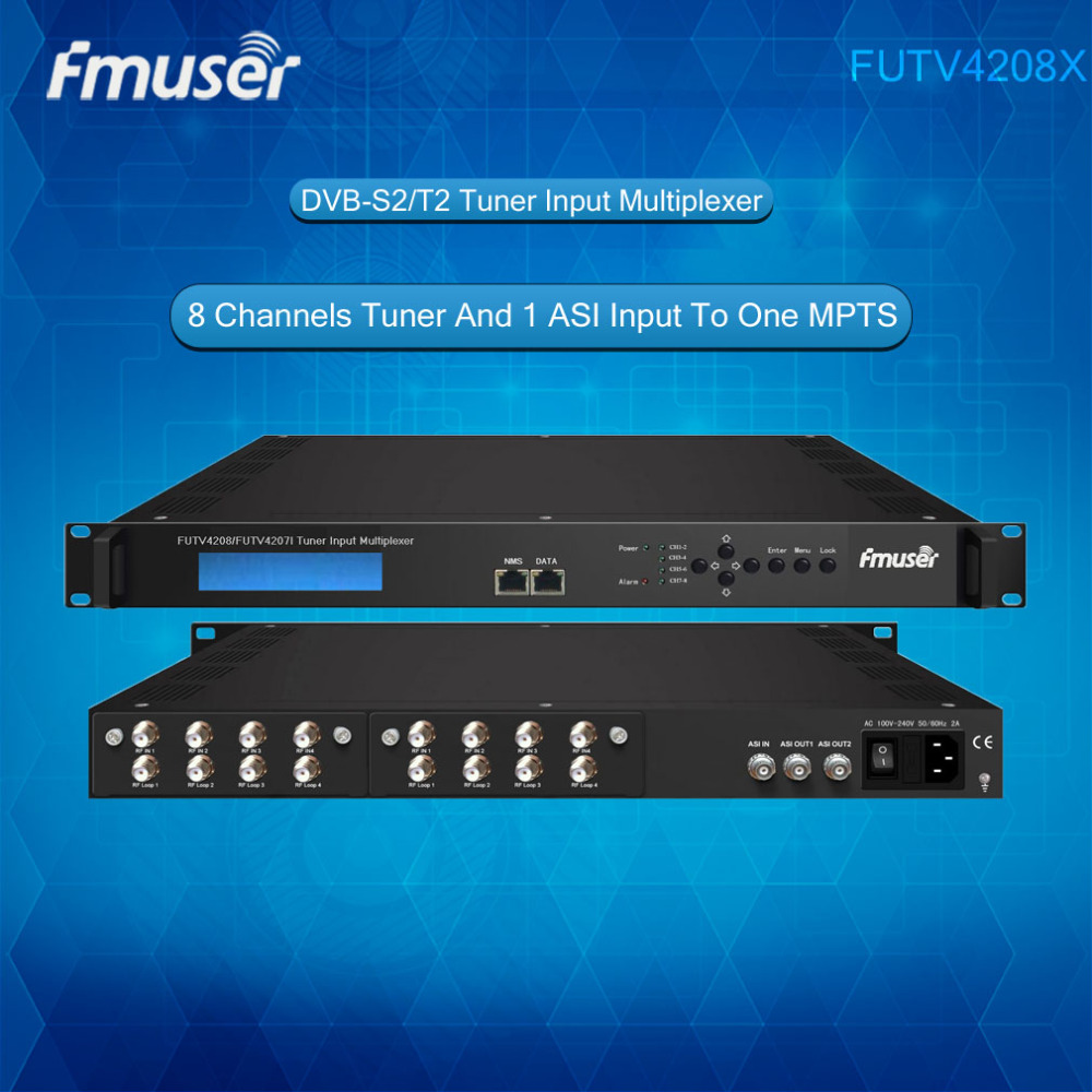 Fmuser 15watt St 2815 Pll Stereo Fm Broadcast Radio Transmitter 8w With Lcd Futv4208 8 Tuner Ird8 Dvb S2 T2 Rf Input1 Asi