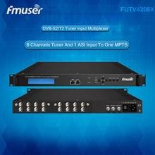 Futv4208 8 тюнер IRD(8 DVB-S2/T2 rf Вход, 1 asi, 2 asi 1 IP Выход) мультиплексор
