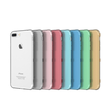 Flip Phone Case for iPhone 8 8 Plus Silicone TPU Clear Flip Case for iPhone 6 6S 7 7 Plus Crystal Cover Ultra Thin Coque
