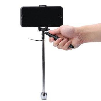 Mayitr negro mini estabilizador alta calidad clip de teléfono estabilizador de vídeo kits para cámara GoPro Accesorios
