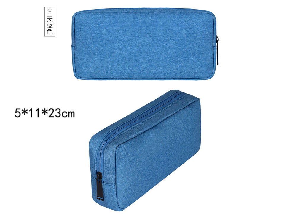 Travel Storage Portable Digital Accessories Gadget Devices Organizer USB Cable Charger Storage Case Travel Cable Organizer Bag (18)