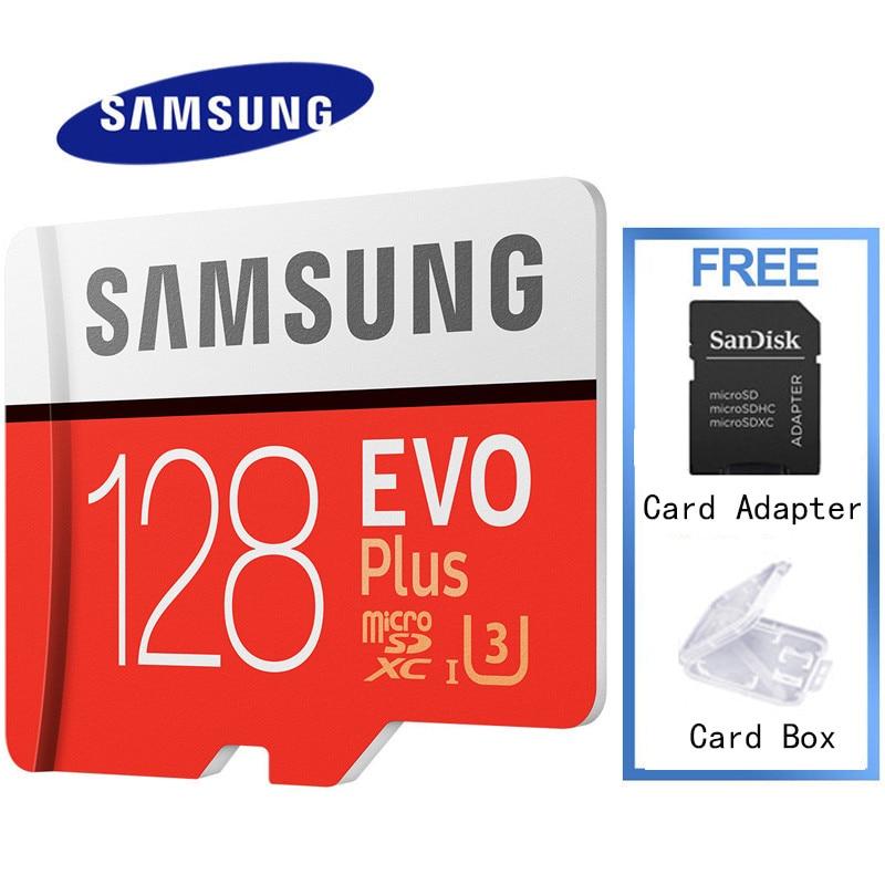 Samsung Evo Plus Memory Card 16gb 32gb Sdhc 64gb 128gb Sdxc Micro Sd