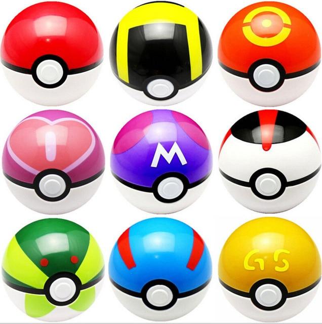 13pcs/<font><b>lot</b></font> 7CM Trainer <font><b>Poke</b></font> <font><b>Go</b></font> mon Pokeball <font><b>Love</b></font> Park Ball Masterball Pokeballs GS Ultra Dive <font><b>Poke</b></font> Ball <font><b>Toy</b></font> Figures Random
