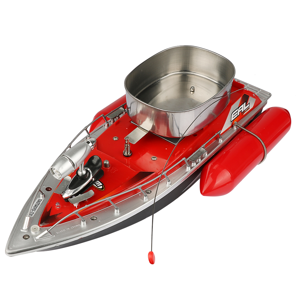 T10 mini RC Fishing Boat Boat Bait 200M remote boat fishing green and red fishing boat 5 HOURS OR  7 HOUR
