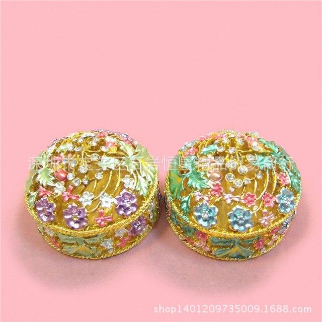 Russian Jewelry Box Metal Craft Gift Ideas Upscale Home Furnishings