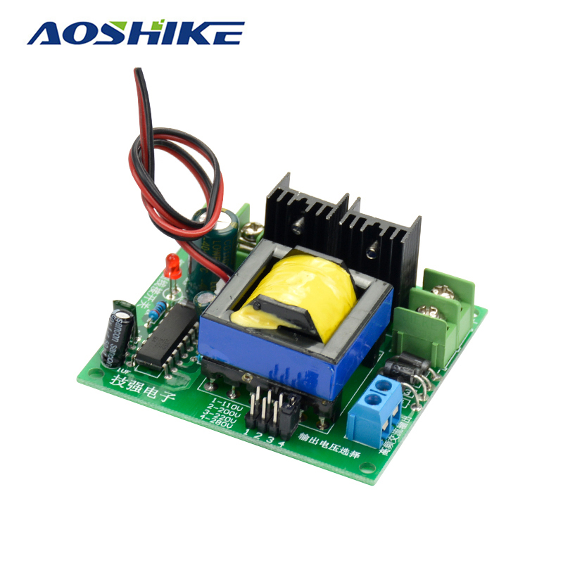 Aoshike DC-AC Converter 12V to 110V 200V 220V 280V AC 150W Inverter Boost Board Transformer Power aoshike usb 1500w watt dc 12v to ac 220v