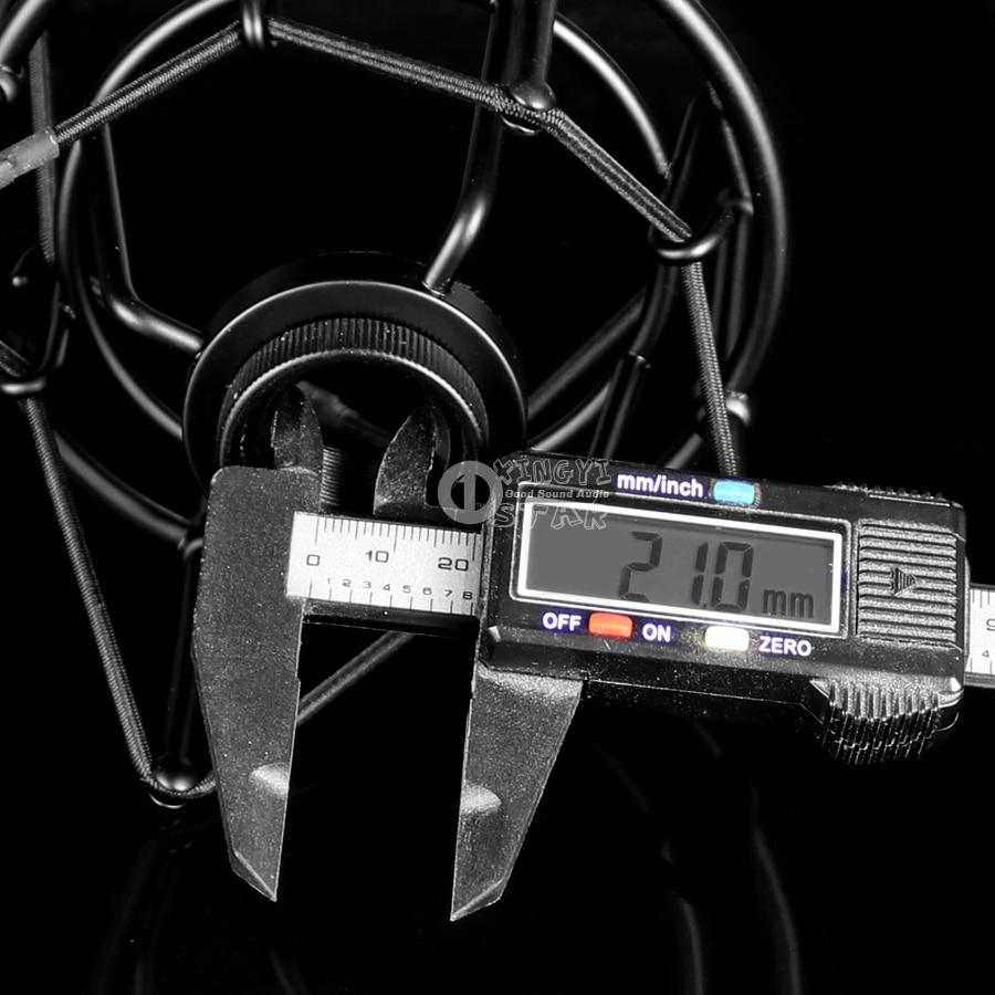 Shockproof Metal Spider Microphone 5