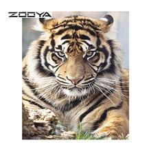 ZOOYA 5D Icons DIY Diamant Malerei Hand Platz Voller Diamant-stickerei-muster Blumen-tulpe Für Malerei BB445