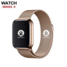 Sleep Tracker Smart Watch 42mm 1:1 Dial Call Smartwatch Series 4 for Apple Watch iOS iPhone 4 5 6 7 Android Samsung Phone Watch bluetooth smart watch series 4 smartwatch case for apple ios iphone 5 6 7 8 x xiaomi android smart phone vs apple watch 4