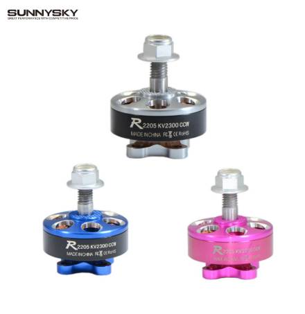 1pc Sunnysky R2205 2300KV 2500KV 2205 Brushless Motor CW CCW Pink Blue Silver For FPV Racing Quadcopter Drone Multicopter
