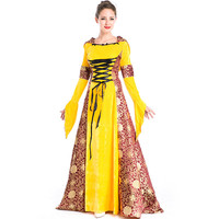 Cosplay Halloween Carnival Party Vintage European Palace Dress Halloween Party Queen Victoria Princess Dress Lolita costumes