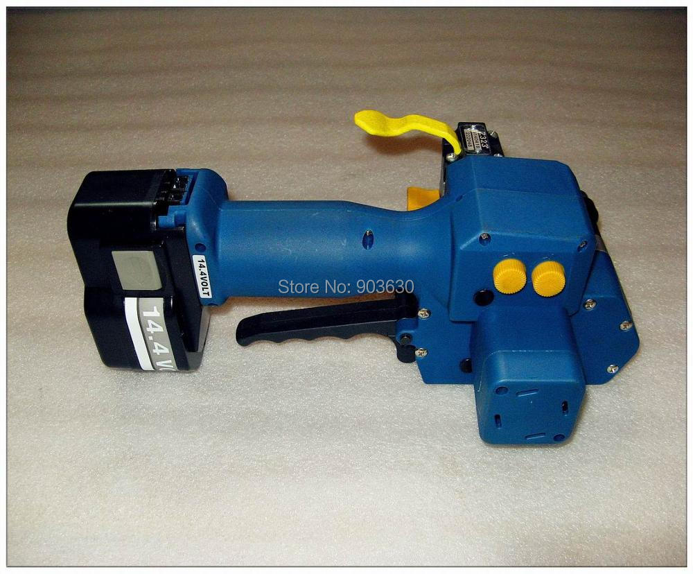 Z323 su baterijomis maitinamas PET / plastikinis suvirinimo surišimo - Įrankių komplektai - Nuotrauka 4