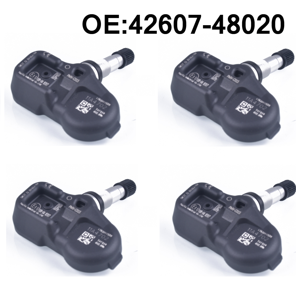 4 PCS Car Tire Pressure Monitoring System TPMS Sensor 42607-48020 For Toyota LC200 C-HR Corolla Pacific Camry Lexus LX570