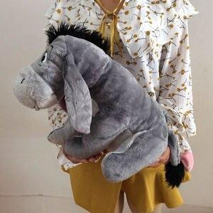Image 2 - Jouet en peluche doux 36cm, 14 pouces, Animal gris, mignon, poupée, Collection de cadeaux pour anniversaire, pour enfants, livraison gratuite