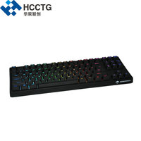 Cherry MX Red Switch Wired Backlit RGB Mechanical Gaming Keyboard HGK87 R C US