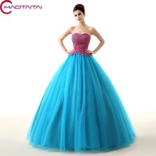 Tulle Ball Gown Prom Lace Sweet 15 Sleeveless Sweetheart Neck Floor-Length Quinceanera Dresses