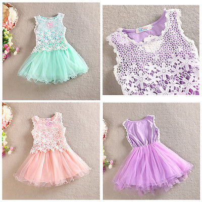 Hot! lace flower dress princess girls dresses summer 2016 for 23-8 baby girls dress clothes children baby boutique clothing summer 2017 new girl dress baby princess dresses flower girls dresses for party and wedding kids children clothing 4 6 8 10 year